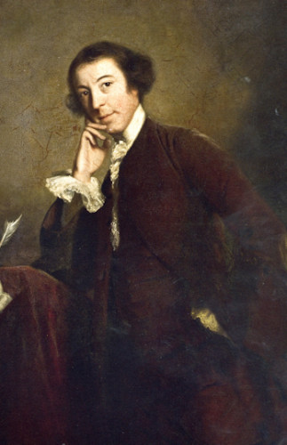 Horace Walpole by Joshua Reynolds