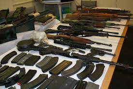 Some of the Weapons Seized by Agents in 2012