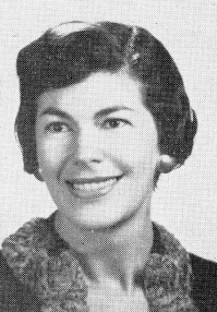 Adele Levine from the San Leandro High, Class of 1958, Yearbook
