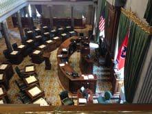 Tenneseee's Senate Chambers