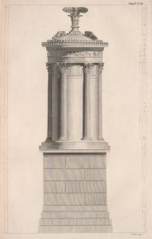 A choragic monument