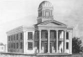Sacramento's Courthouse/ California's Capitol,1854